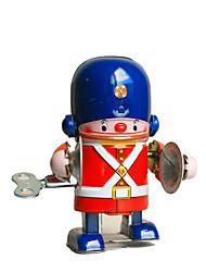 Недорогие -Робот Игрушка с заводом Ретро Машина Робот Барабанная установка Сварочное железо Железо Винтаж Ретро Куски Универсальные Игрушки Подарок