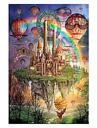 cheap -1000 pcs Castle Ship Jigsaw Puzzle Adult Puzzle Jumbo Wooden Adults' Children's Toy Gift
