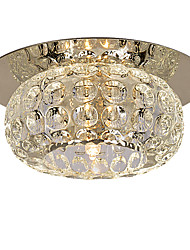 "cheap -1-Light LightMyself™ 10(4"") Crystal / Mini Style Flush Mount Lights Modern Contemporary 110-120V / 220-240V / G4"
