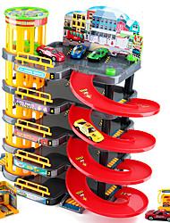 cheap -Toy Car Marble Track Set Plastics Wood Educational Boys' Girls' Kid's Toy Gift