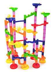 cheap -Maze Marble Track Set Educational Toy Marble Run 105 pcs Plastics Creative DIY Parent-Child Interaction Educational STEAM Toy Boys' Girls' Kid's Children's Toy Gift