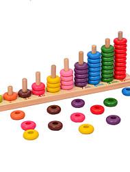 Недорогие -Конструкторы Игрушечные счеты Игрушки для обучения математике Обучающая игрушка Экологичные Классика Детские Игрушки Подарок