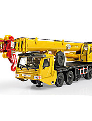 cheap -KDW Toy Car Motorcycle Construction Truck Set Crane Simulation Unisex Toy Gift