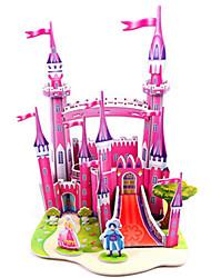 cheap -3D Puzzle Jigsaw Puzzle Model Building Kit Castle Famous buildings DIY Hard Card Paper Classic Anime Cartoon Kid's Unisex Toy Gift