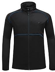Недорогие -Велокуртки Велоспорт Верхняя часть С защитой от ветра Виды спорта Черный Горные велосипеды Шоссейные велосипеды Одежда Одежда для велоспорта