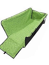 Недорогие -Кошка Собака Чехол для сидения автомобиля Водонепроницаемость Компактность Складной Геометрический принт Ткань Зеленый