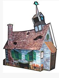 cheap -3D Puzzle Paper Craft Famous buildings Pumpkin DIY Hard Card Paper Kid's Unisex Boys' Toy Gift