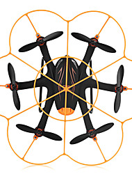 cheap -RC Drone WLtoys Q383-C 4CH 6 Axis 2.4G With 720P HD Camera RC Quadcopter LED Lights / Failsafe / 360°Rolling RC Quadcopter / Remote Controller / Transmmitter / Camera / Hover / Hover / With Camera