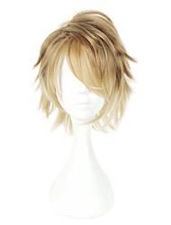 cheap -Cosplay Cosplay Wigs Men's Women's 14 inch Heat Resistant Fiber Anime Wig