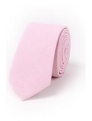 abordables -Homme Travail Cravate Couleur Pleine
