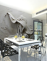 cheap -Mud Hat Hat Beauty Custom 3D Large Wall Covering Mural Wallpaper Fit Restaurant Tv Background Wall Art