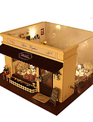 abordables -CUTE ROOM Kit de Maquette Maquettes de Bois A Faire Soi-Même Meuble Maison En bois Unisexe Jouet Cadeau