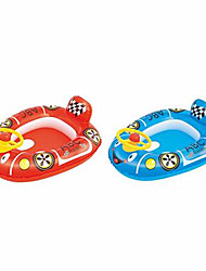 cheap -Duck Car Ship Inflatable Pool Float Inflatable Ride-on PVC(PolyVinyl Chloride) Kid's Toy Gift