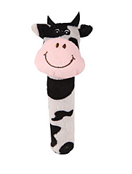 cheap -Finger Puppets Baby Rattle Stuffed Animal Plush Toy Cow Cute Animals Imaginative Play, Stocking, Great Birthday Gifts Party Favor Supplies Baby