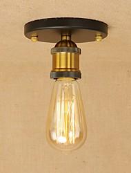 cheap -Vintage Loft Mini Metal Ceiling Lamp Flush Mount Hallway Dining Room Bedroom Kitchen Antique Lamp