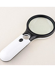 cheap -Magnifier Reading Toy Lens with LED Light Large Size Plastics Kid's Toy Gift