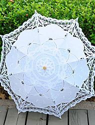abordables -Poignée de post Mariage / Occasion spéciale / Plage Parapluie Parapluie Env.68cm