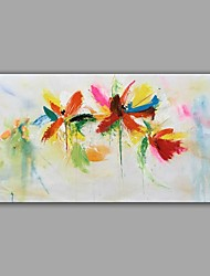 cheap -Oil Painting Hand Painted - Still Life Abstract Canvas