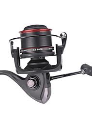 cheap -Fishing Reel Spinning Reel / Trolling Reel 4.1:1 Gear Ratio+13 Ball Bearings Hand Orientation Exchangable Sea Fishing / Spinning / Jigging Fishing - TP9000 / Freshwater Fishing / Bass Fishing