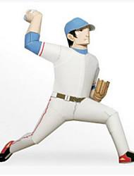 Недорогие -3D пазлы Мячи Бумажная модель Спортивные товары Гольф Своими руками Плотная бумага Классика Детские Универсальные Мальчики Игрушки Подарок
