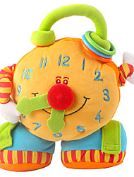 cheap -Clock Finger Puppets Puppets Hand Puppet Cute Lovely Plush Toy Gift