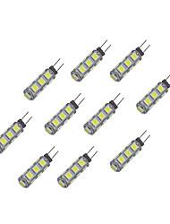 cheap -10pcs 2 W LED Bi-pin Lights 135 lm G4 13 LED Beads SMD 5050 Warm White White 12 V / 10 pcs