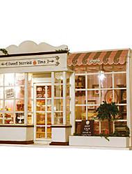 cheap -Model Building Kit DIY Furniture House Plastics Wooden Classic Unisex Toy Gift