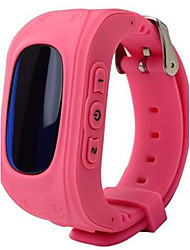 cheap -Smartwatch Digital Rubber Blue / Green / Pink Digital Green Blue Pink