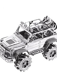 cheap -PIECECOOL Toy Car 3D Puzzle Jigsaw Puzzle Truck DIY Metalic Aluminium Classic SUV Kid's Unisex Boys' Toy Gift