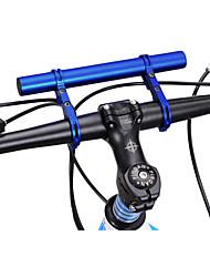 cheap -31.8 mm Bike Handlebar Extender Flashlight Mount Holder Lightweight Tool Holder Extension for Road Bike Mountain Bike MTB TT Aluminium alloy Red Black Blue