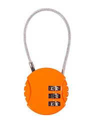cheap -13321 Padlock Zinc Alloy Password unlocking for Luggage / Journal / Gym & Sports Locker