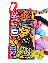 Недорогие -Образовательные игры с карточками Игрушка для обучения чтению Обучающая игрушка Животные Ткань Детские Дети Мальчики Игрушки Подарок