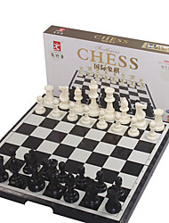 cheap -Board Game Chess Game Chess Foldable Magnetic Large Size Plastics Kid's Adults' Unisex Boys' Girls' Toy Gift