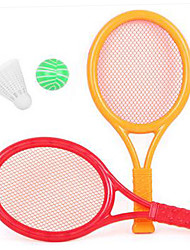 cheap -Balls Racquet Sport Toy Simple Plastics Feather Kid's Boys' Girls' Toy Gift