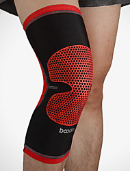 cheap -BOODUN Knee Brace Reinforced Knee Support Support Compression Sleeves for Running Basketball Football / Soccer Breathable Pain Relief Injury Recovery Chinlon 1pc Sports Outdoor Arm Green Red Silver