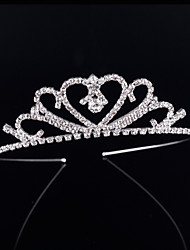 cheap -Crystal / Rhinestone / Alloy Tiaras / Headbands with 1 Wedding / Special Occasion / Birthday Headpiece