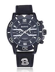 Недорогие -jewelora Муж. Наручные часы Модные часы Спортивные часы Китайский Кварцевый Защита от влаги Крупный циферблат Панк Ударопрочный Кожа