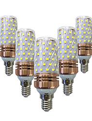 cheap -5pcs 16 W LED Corn Lights 1200 lm E14 E26 / E27 T 84 LED Beads SMD 2835 Decorative Warm White White 220-240 V / 5 pcs / RoHS