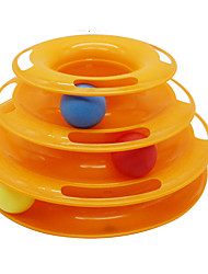 cheap -Cat Ball Tracks Chew Toy Cat Pet Toy Easy Install Plastic Gift