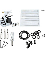 cheap -Professional Tattoo Kit Tattoo Machine - 1 pcs Tattoo Machines, Handmade / Professional / Kits Cast Iron 1 cast iron machine liner & shader
