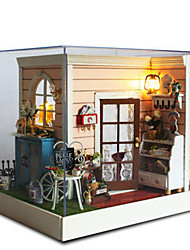 cheap -CUTE ROOM Model Building Kit DIY Famous buildings Furniture House Plastics Wooden Classic Unisex Toy Gift