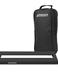 cheap -Ammoon DB-1 Mini Aluminum Alloy Guitar Pedal Board with Carrying Bag Tapes