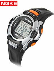 cheap -Women's Sport Watch Military Watch Smartwatch Quartz Digital Silicone Multi-Colored 30 m Water Resistant / Waterproof Alarm Calendar / date / day Digital Charm Vintage Casual Bangle Fashion - Green