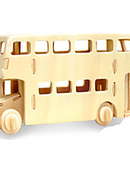 cheap -3D Puzzle Jigsaw Puzzle Metal Puzzle Car DIY Wooden Natural Wood Classic Kid's Adults' Unisex Toy Gift