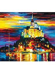 Недорогие -Замок Знаменитое здание Корабль MOON Пазлы Головоломка для взрослых Огромный деревянный Взрослые Игрушки Подарок