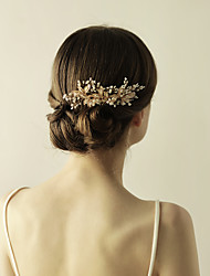 cheap -Imitation Pearl / Alloy Hair Combs / Flowers with 1 Wedding / Special Occasion / Anniversary Headpiece