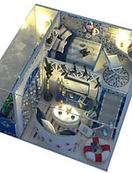 cheap -Model Building Kit DIY Furniture House Plastics Wooden Unisex Toy Gift