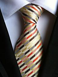 cheap -Men's Neckwear / Stripes Necktie - Striped