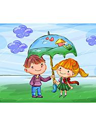 voordelige -1000 pcs Kasteel Cartoon Hart Legpuzzel Puzzel voor volwassenen Jumbo Puinen Volwassenen Speeltjes Geschenk