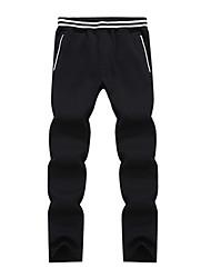 abordables -Homme Pantalons de Course Running Pantalon de survêtement Pantalon de sport Toison Des sports Hiver Pantalons / Surpantalons Course / Running Exercice & Fitness Chaud Décontracté / Quotidien simple